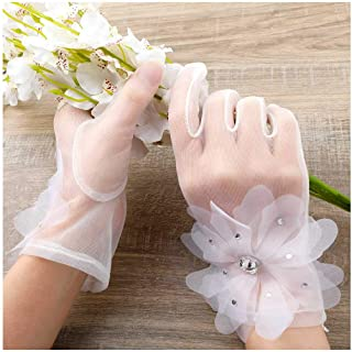 organza gloves