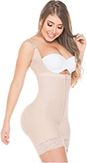Salome 0216 Fajas Colombianas Reductoras y Moldeadoras Postparto Body Shaper for Women