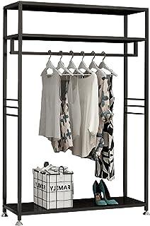 MissZZ Porte-vêtements Porte-vêtements Nordique Moderne en métal, Porte-Manteau autoportant pour Chambre avec 1 Tringle de...