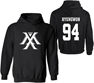 Kpop Monsta X Sweater Hoodie IM Jooheon Wonho Shownu Minhyuk Jacket Pullover