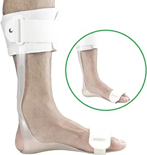 Orthomen Drop Foot Brace AFO Leaf Spring Splint (M/Right)
