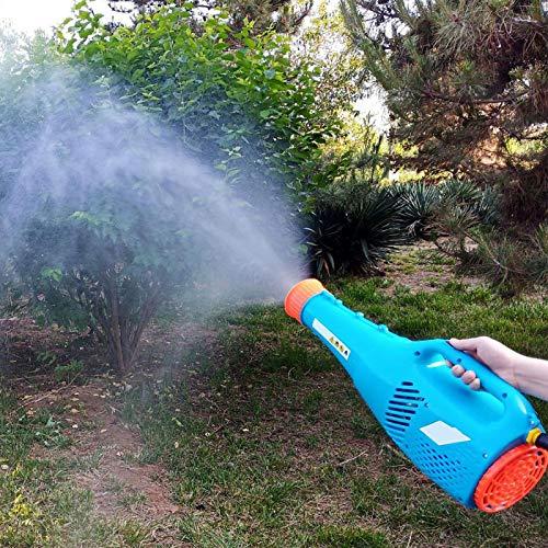 FOLOSAFENAR Tragbares Hochgeschwindigkeits-12-V-Pestizidsprühgerät Gartensprühgerät für Rasensprühdistanz 6-8 m