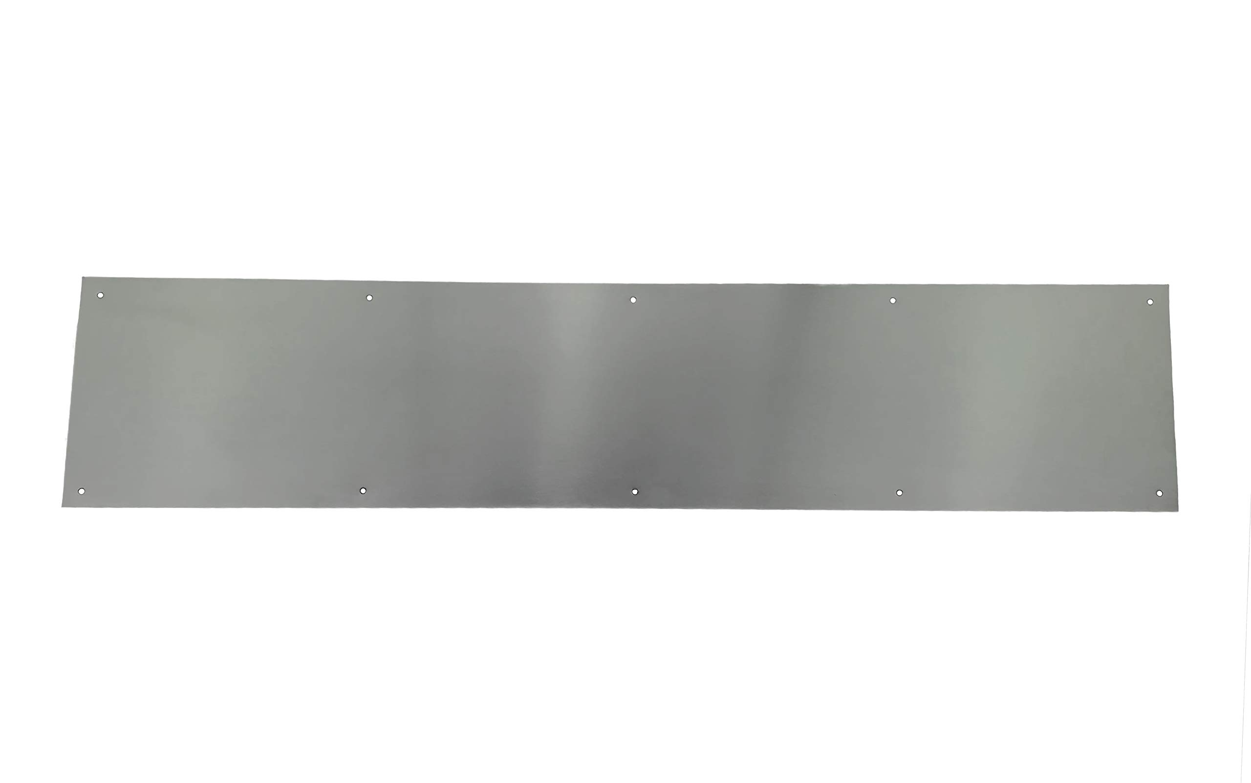 Stainless Steel Door Kick Plate Mop Plate Available in Many Sizes 8 x 36 Heavy Duty Door Protection Plate Commercial Grade Mounting Hardware Included