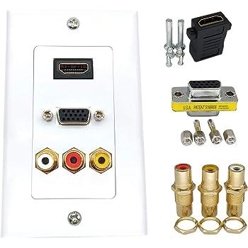 Lyndahl Pannelli per Altoparlanti e sistemi Audio Surround Nero 7.1