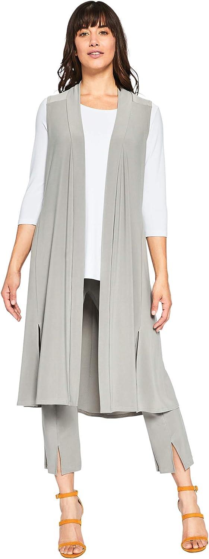 Sympli Women's Go to Vest LongTaupe