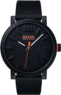 cf63d271d5 Hugo Boss Orange Homme Analogique Classique Quartz Montres bracelet avec  bracelet en Cuir - 1550038