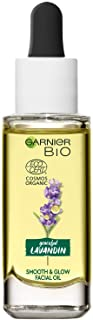 GARNIER Bio, ansiktsolja, Lavandin Smooth and Glow Facial Oil, 30 ml