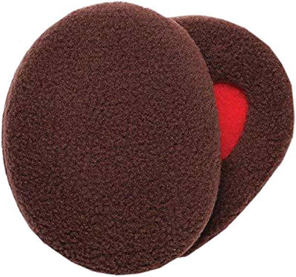 Melodyblue Fashion Warm Earmuffs Independent Earmuffs Single Ear Warmer Earmuffs Men's Earmuffs Children's Ear Warmers-Brown
