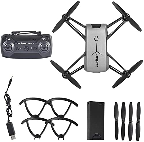GreatWall IN1802 Stilvolle Drone WiFi Quadcopter Drone Fernbedienung 720P HD Kamera Silber