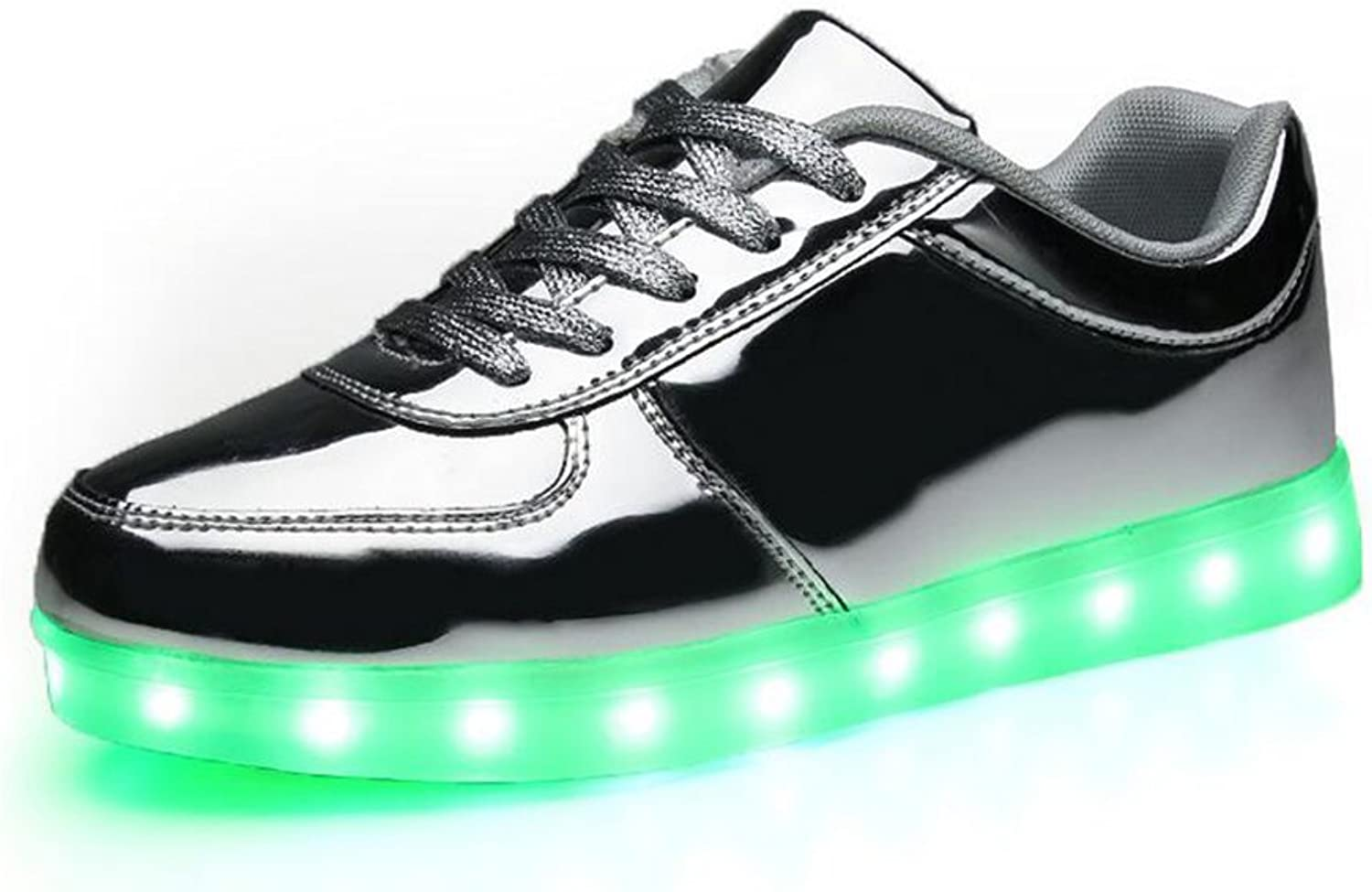 HUAN LED shoes LED Couples shoes 7 colors Unisex Men Women USB Chargable for Thanksgiving Day Valentine's Day Party Christmas Hallowen Gift