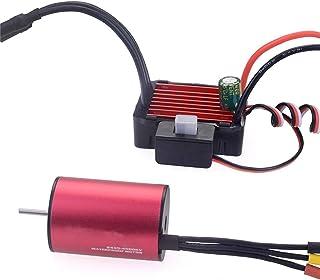 1 set vattentät 2435 4800KV borstlös motor 25A ESC set för 1/16 1/18 RC biluppgraderingsdelar