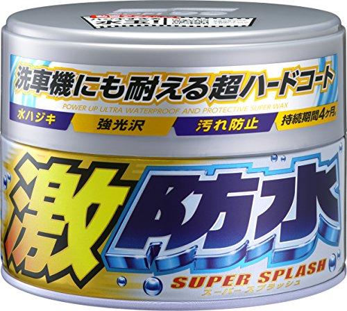 SOFT99 - Water Block Super Splash Wax Dark/Light, contenido: Light Color