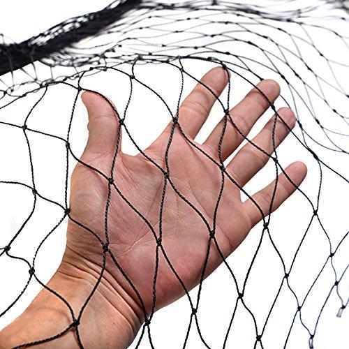 Anti Bird Netting 25'X50' Soccer Baseball Game Poultry Fish Net 2'x2' Mesh