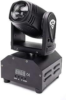 sahadsbv Lumière de scène 60W LED lumière Principale Mobile DMX512 Voix 9/11 canaux Arc-en-Ciel décoloration 8 Couleurs, U...