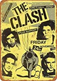 Wise Degree Metal Poster The Clash in England Metall Poster