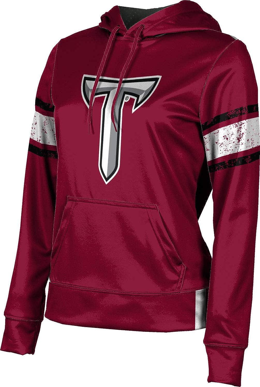 Troy University Girls' Pullover Hoodie, School Spirit Sweatshirt (End Zone)