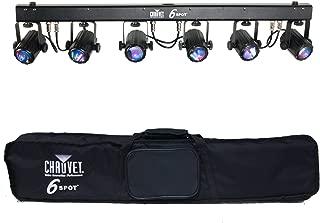 CHAUVET DJ 6SPOT LED Spot Lighting System w/Tri-Color LEDs