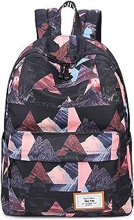 Hey Yoo Girls School Backpack Waterproof Travel Bookbag School Bag Backpack for Teen Girls Women (Black)