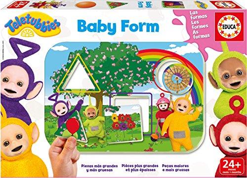 Teletubbies - Baby Form, Juego de Mesa (Educa Borrás 17060)