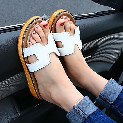 AWXJX Tongs Femme Chaussures été été Plat Plage Extérieur Bas Talon argent 7.5 US 38 EU 5 UK  vous rendre satisfait