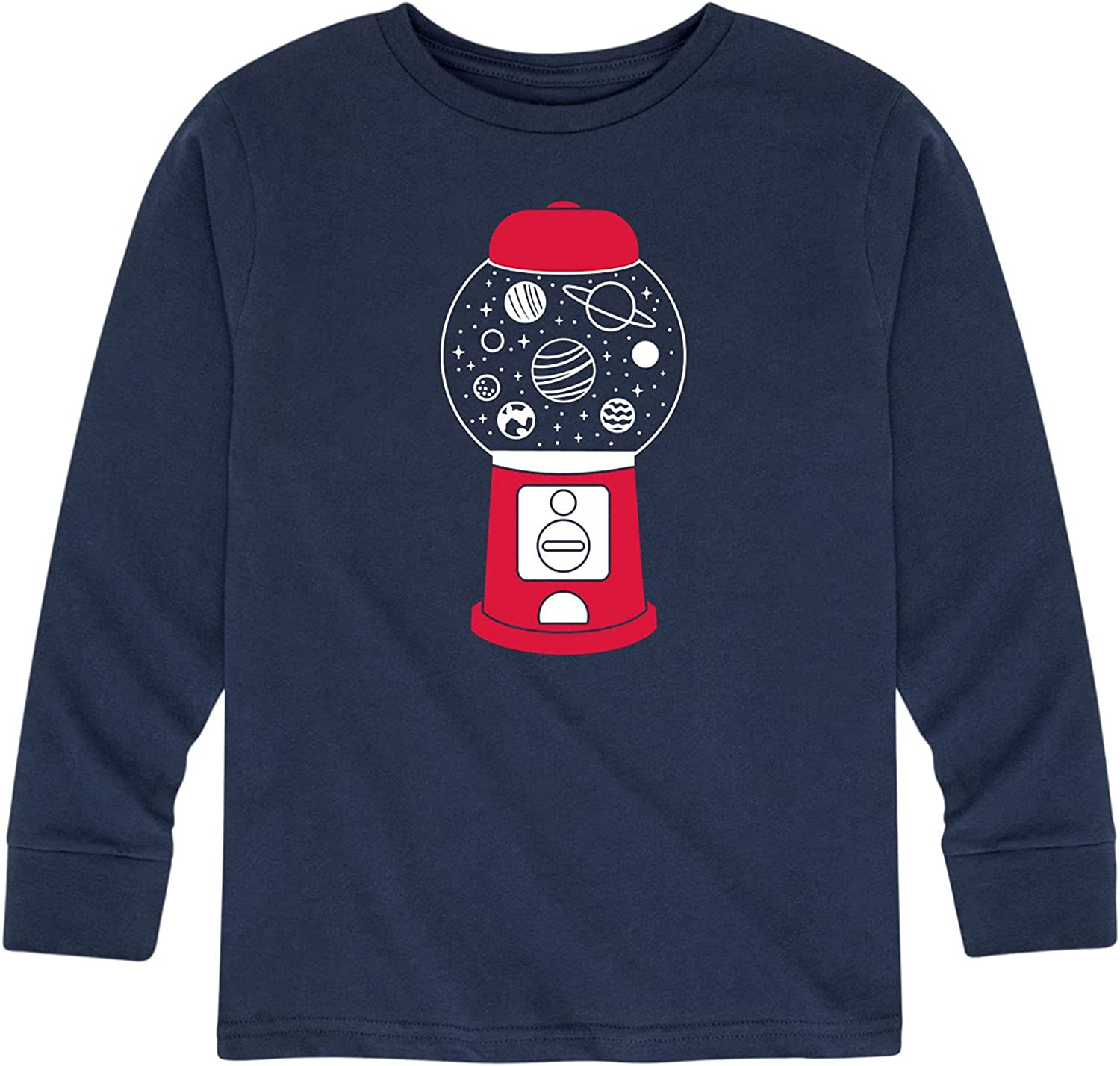 Instant Message Space Gumball Machine - Toddler and Youth Long Sleeve Graphic T-Shirt