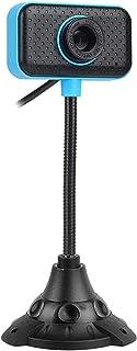 WXFXBKJ USB PC Webcam, HD Webcam with Microphone, Flexible Rotating Neck, for PC Notebook Computer Camera Desktop Computer...