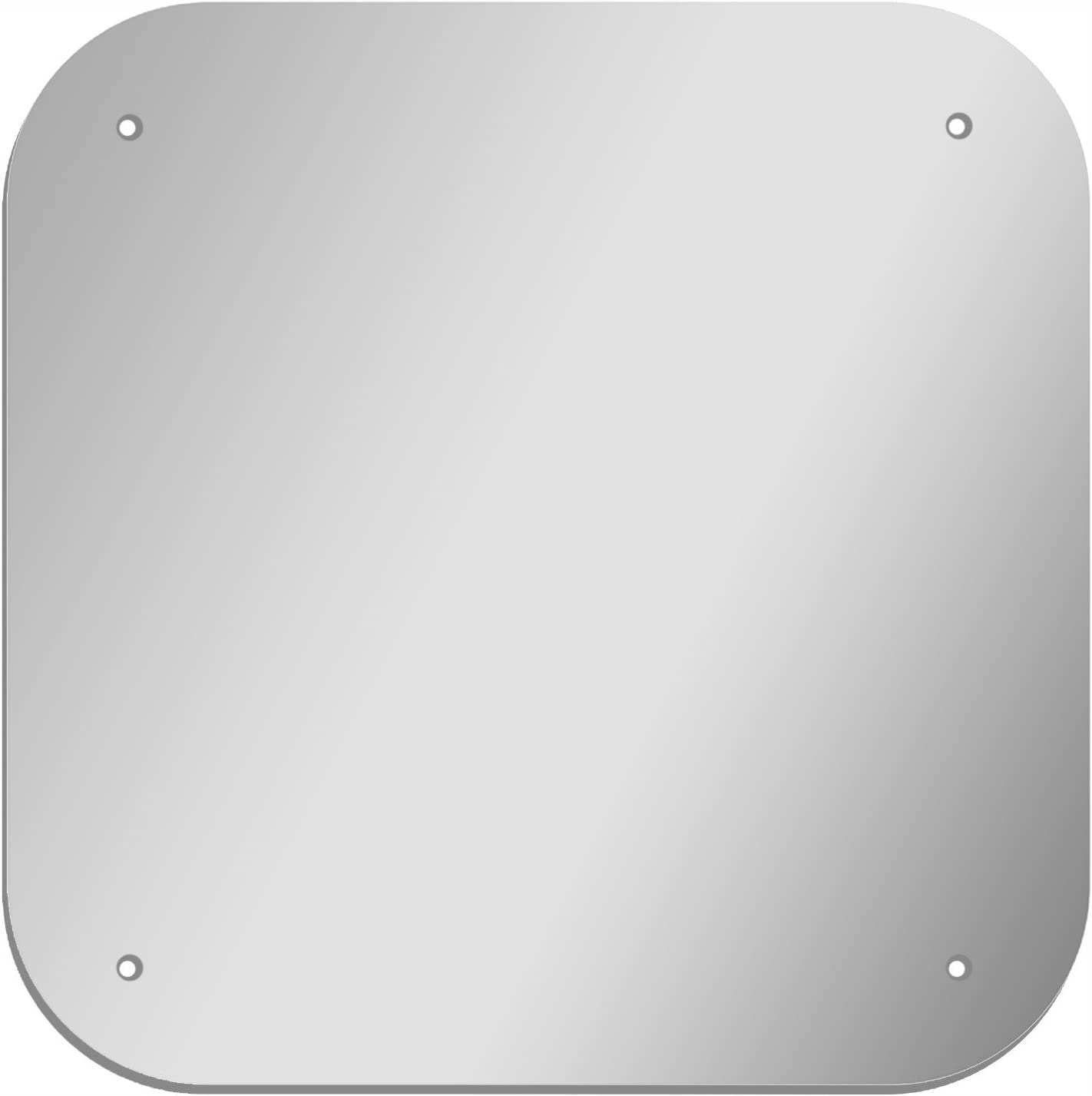 GLOSSY GALLERY Translated Square Shatterproof Acrylic Ro Mirror Safety Large discharge sale with