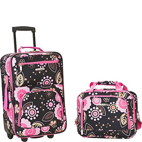 Rockland Fashion Softside Upright Luggage Set, Pucci, 2-Piece (14/20)