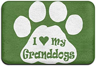 I Love My Granddog Nice Doormats Welcome Mat