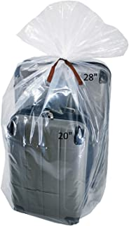 Wowfit 5 CT 40x60 inches Clear Giant Storage Bags Perfect for Dustproof, Moistureproof, Luggage, Suitcase, Comforter, Chai...