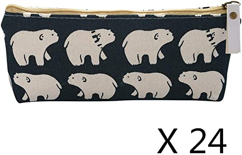 24x Universal Pencil Case Style A