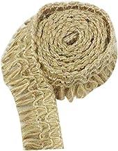 2cm Diameter Jute Rope Tassels Decorative Bottle Clothing Accessories-3.2ft
