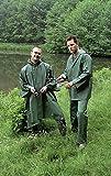 Nick and Ben Outdoor Angel-Regenanzug Size XXL olivgrün aus PVC