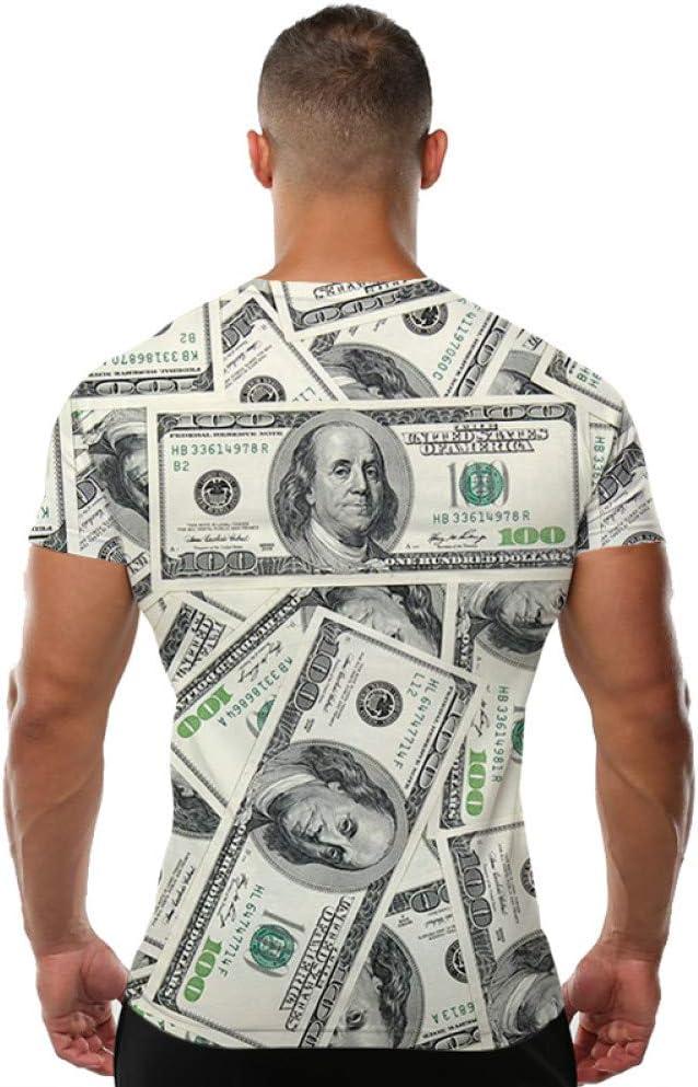 YAMAO Camisa Camiseta 3D Camiseta Rock Camisetas Divertidas ...