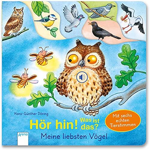 Hör hin! Was ist das? Meine liebsten Vögel: Mit Soundmodulen mit echten Tierstimmen: Mit Registerstanzung und 6 Soundmodulen