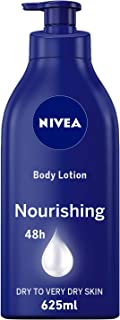 NIVEA Nourishing Body Lotion, Almond Oil, Extra Dry Skin, 625ml