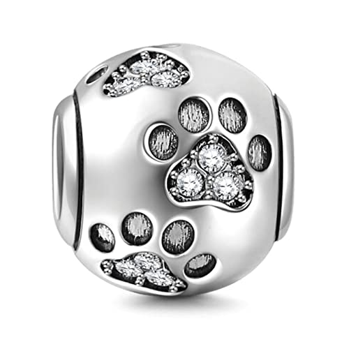6e6d8765e72d Abalorios para pulseras de plata de ley: Amazon.es