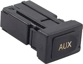 NewYall Auxiliary AUX Stereo Port Adapter Audio Input Jack Plug