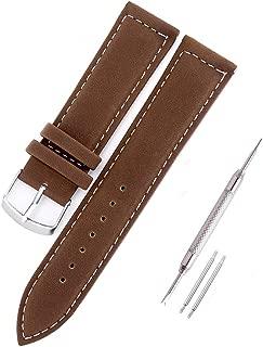 Piel Reloj de pulsera de reloj (22mm, Reloj de pulsera pulseras Watch banda de pulsera de repuesto para relojes Negro Marrón 18mm