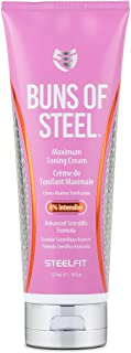 SteelFit Buns of Steel Maximum Toning Cream with 4% Intenslim