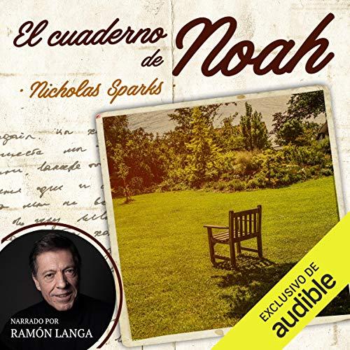 Diseño de la portada del título El cuaderno de Noah