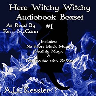 Here Witchy Witchy Box Set One audiobook cover art