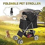 Best Dog Strollers - Nova Microdermabrasion Foldable Pet Dog Stroller for Cats Review