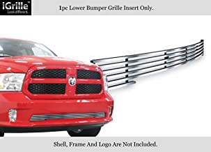 APS Compatible with 2013-2018 Ram 1500 Express & Sport Stainless Polished Chrome Billet Grille Insert D65920S