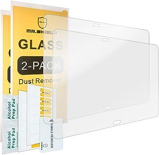 [2-PACK]-واقي شاشة Mr.Shield لهاتف Samsung Galaxy Note 10.1 إصدار 2014 [زجاج مقسى] [0.3 مم فائق النحافة صلابة 9H 2.5D مستد...