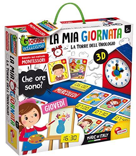 Liscianigiochi Montessori La Mia Giornata La Torre dell'Orologio, Gioco Educativo, 80137
