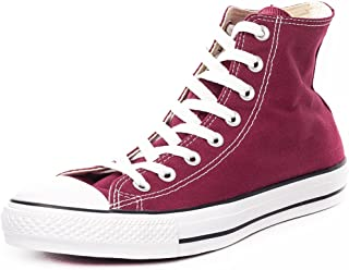 Converse Unisex Chuck Taylor All Star Hi-Top Shoes, Maroon, 12 B(M) US Women / 10 D(M) US Men