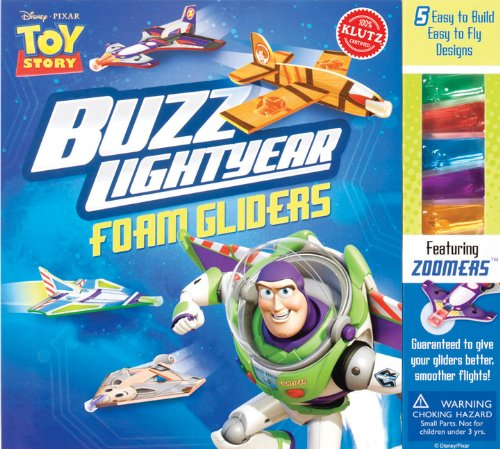 Buzz Lightyear Foam Gliders (Disney Pixar Toy Story): Simple-to-build gliders let you soar with Toy Story favorites