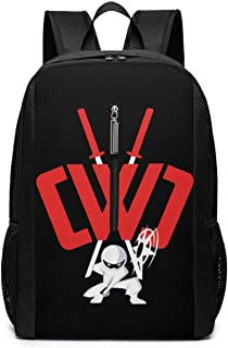 CWC Chad Wild Clay Canvas Backpack 17 Inch,Hiking Travel Rucksack,School Bag Adult For Women Mens