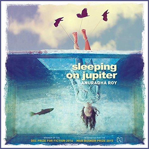 Sleeping on Jupiter audiobook cover art